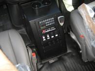 """C-VS-1800-SAV-D - 2007-2019 Chevrolet Diesel G-Series or GMC Savana Van Vehicle Specific 18"""" Console"""