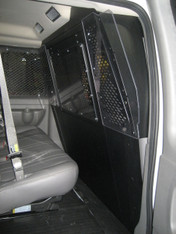 P-FRONT-3 Front partition for 2015 -2016 Ford Transit window van with low roof
