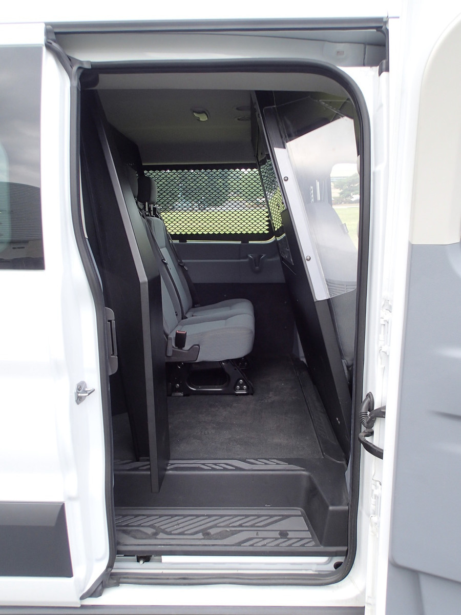 P-MID-2 - Middle partition for 2015 -2019 Ford Transit window van with Low  Roof and side swing out or sliding