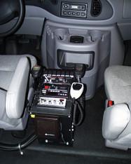"C-1200V, 12"" Enclosed Console*"