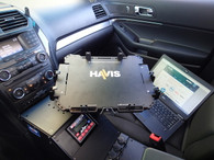 """UT-1004 - Universal Rugged Cradle for approximately 11""""-14"""" Computing Devices, with Added Width"""