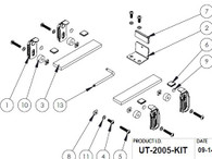 UT-2005-KIT* - Adaptor Lug Kit to secure Panasonic CF20 or Lenovo Helix in Universal Rugged Cradle UT-2001
