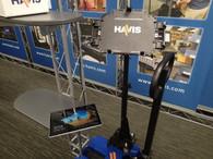 UT-2010* - Havis Rugged Cradle for Dell Latitude 5285 or HP Elite X2