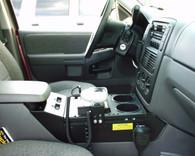 "C-VS-1200-EXPL - 2002-2005 Ford Explorer Vehicle Specific 12"" Console"