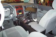 "C-VS-3011-DUR - DISCONTINUED -- 2004-2009 Dodge Durango Vehicle Specific 30"" Console"