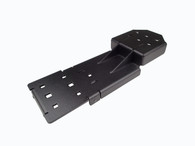 C-ADP-120 - Adapter bracket that allows for mounting a C-UMM-101 monitor mount to a C-MD-110 Series similar to t