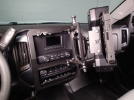 C-DMM-132 - Swing Out Dash Monitor Mount Base for 2014-2018 Chevrolet Silverado 1500, 2015-2018 Silverado 2500 a
