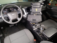 """C-VS-0812-TAH-1 - 20"""" Vehicle Specific Console for 2015-2019 Chevrolet Tahoe Police Pursuit Vehicle (PPV) & 2015-2019"""