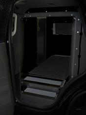 K9-C23-2-B 2015-2019 Chevrolet Tahoe Black K9 transportation system