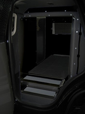 K9-C23-2-B 2015-2019 Chevrolet Tahoe Black K9 transportation system