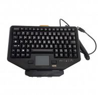 PKG-KB-205 Havis Rugged Chiclet Style Keyboard and Keyboard Mount (Patented) System*