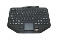 KB-108 Havis Rugged Keyboard with Integrated Touch Pad and Emergency Key