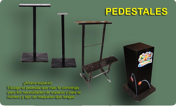 las bases, módulos y pedestales apoyan a tu negocio
