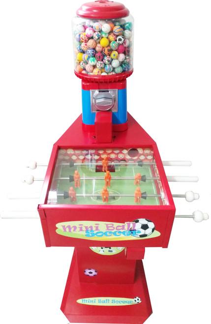 Máquina mini futbolito con SB16.