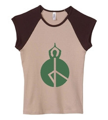 Style #4461 Peace Print Tank or T-shirt