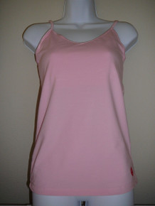 Style#1111 Adjustable Tank with Shelf-bra - Light colors