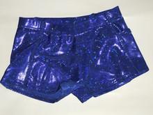 Blue Spandex Shorts