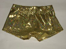 Gold Spandex Shorts