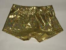 Gold Spandex Shorts