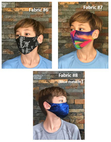 Face Masks (45 fabric choices) - FM pickup