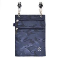 EMF/RFID Camo Blue XL