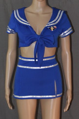 Hello Sisters Blue Sailor Outfit