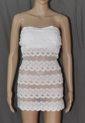 All The Thrills Sexy Strapless Dress