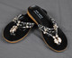 Lucky Bling Slippers Black