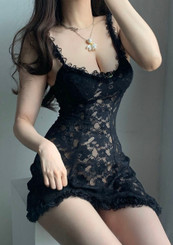 Lace Heaven (Black)