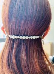 Hair Band For Masks (Pearl)