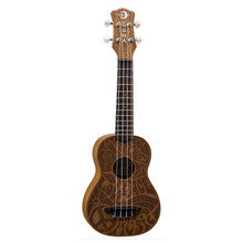 Luna Love Music Peace Soprano - Mahogany