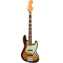 FENDER® AMERICAN ULTRA JAZZ BASS® V MOCHA BURST