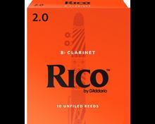 Rico B flat Clarinet Reeds, Box of 10