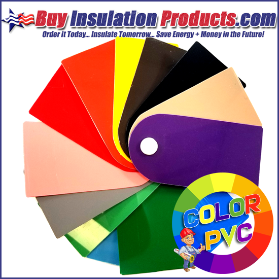 Color PVC Sample Pinwheel