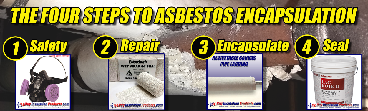 4 Steps to Asbestos Encapsulation for Pipe Insulation