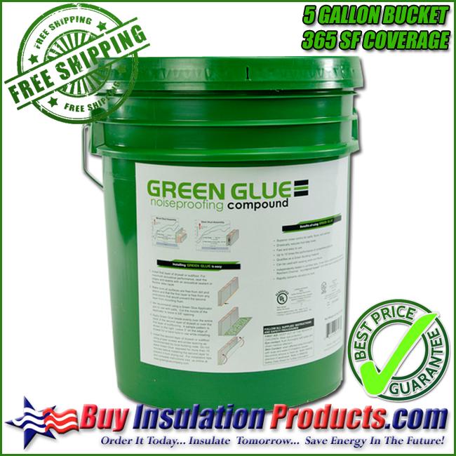 Green Glue Noiseproofing Compound 5 Gallon Bucket