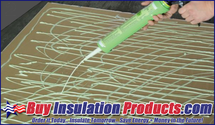 Green Glue Noiseproofing Compound Recommended Application Pattern on Drywall
