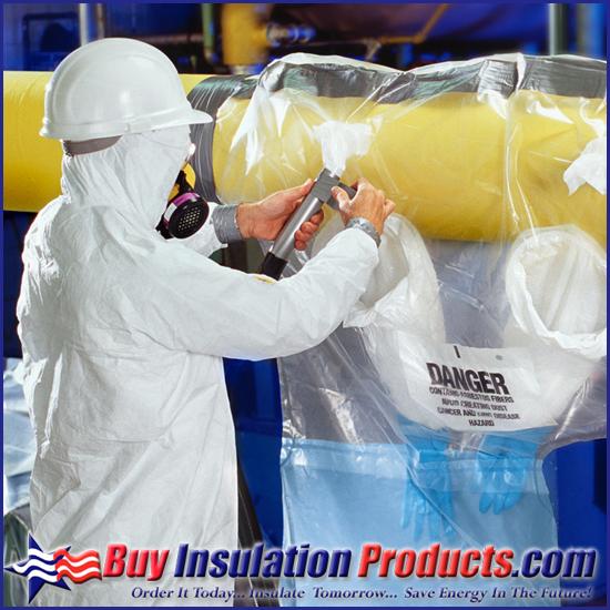 Asbestos Removal Glove Bags | Clear Asbestos Bags