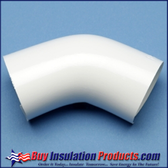 PVC 45° Deg Elbow Cover