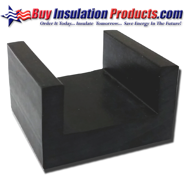 Floating Floor Rubber Joist Isolation Clip - Buy Insulation Products