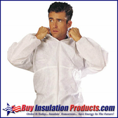 Poly Propylene Suits White (XX - XXXL)