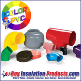 Color PVC Fittings and Jacketing