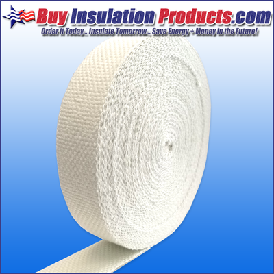 High Temperature Woven Fiberglass Tape Fiberglass