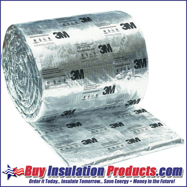 3M Fire Barrier Duct Wrap 615+ | Fire Resistant Duct Wrap
