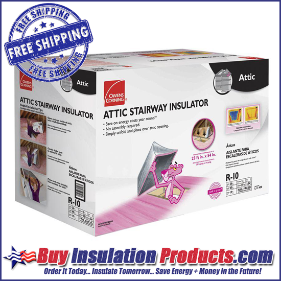 Owens Corning Attic Stair Insulator Attic Stair Tent