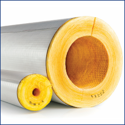 Fiberglass Pipe Insulation for Steam, Hot & Cold Water Pipes   ASJ SSL