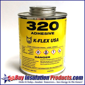 K-Flex 320 Rubber Adhesive (Pint)
