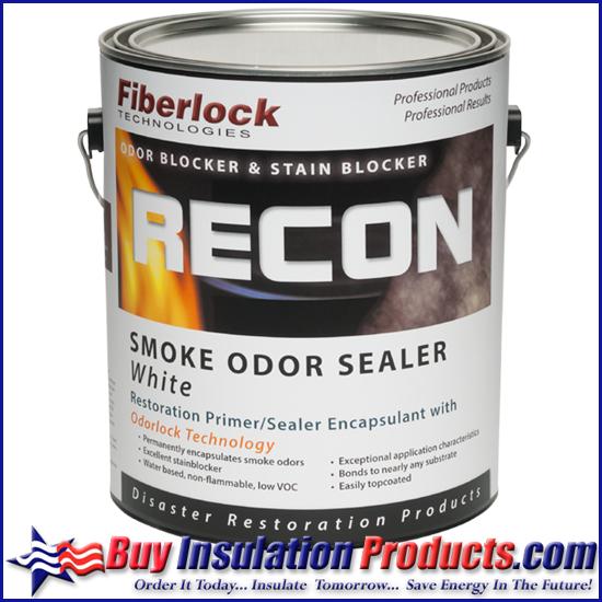 Fiberlock Recon Smoke Odor Sealer (1 gal ) | Fiberlock Odor Sealant