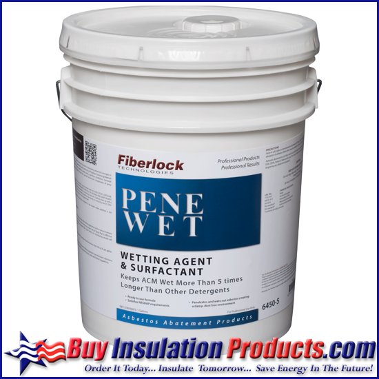 Fiberlock Penewet Asbestos Wetting Agent Surfactant 5