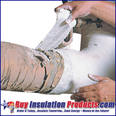 Fiberlock Wet Wrap 'N' Seal Asbestos Repair Rolls